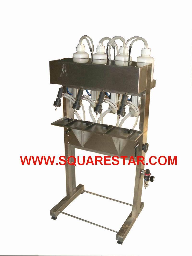 semi auto liquid filling machine
