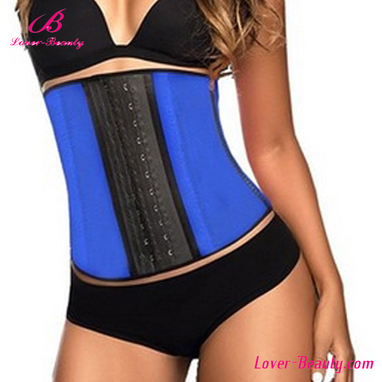 Lover-Beauty 9 Steel Bones Latex Waist Trainer Cincher Corset