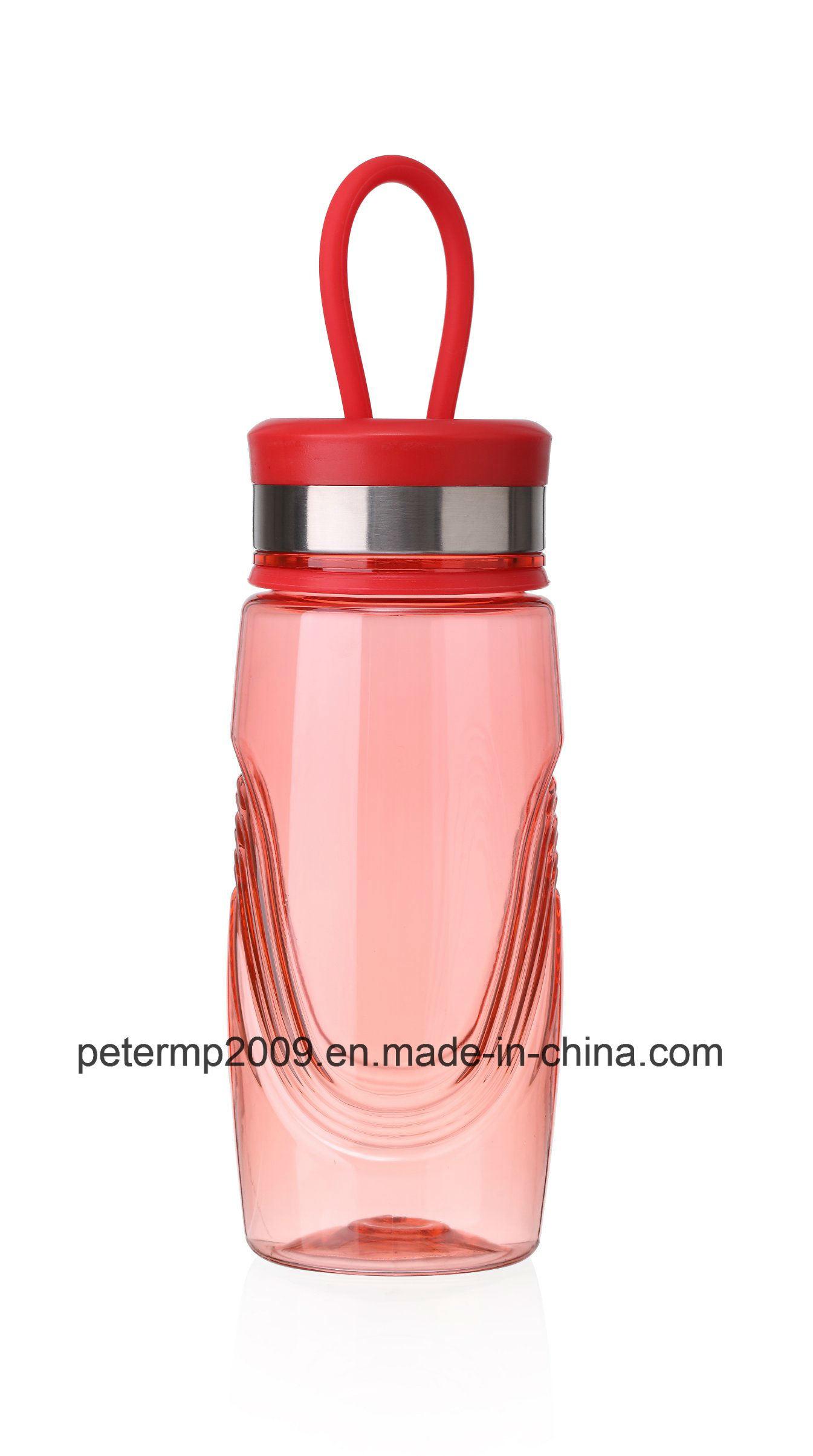 370ml Plastic Water Bottles with Screw Cap, Sport Water Bottle, Colorful Water Bottle