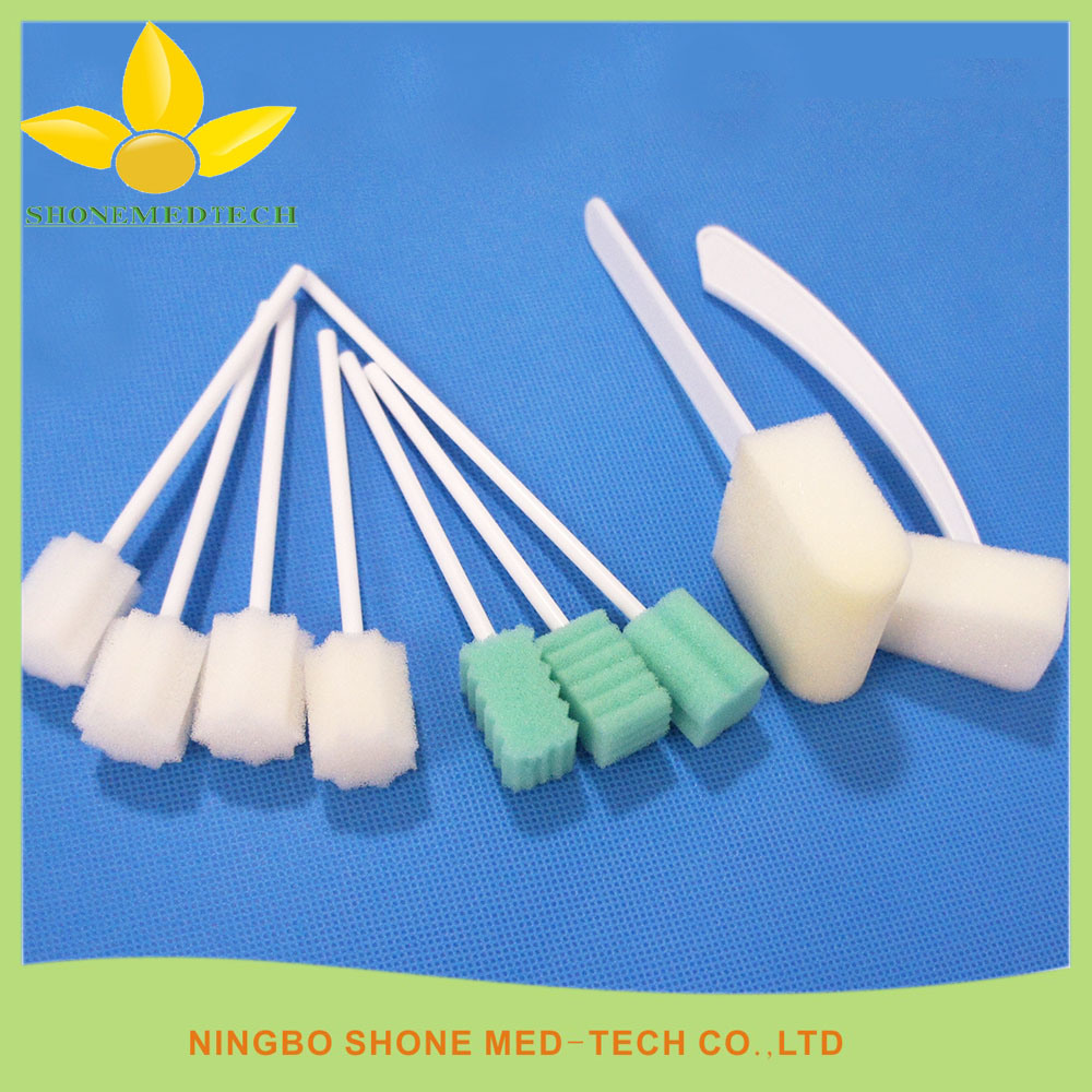 Disposable Medical Cleaning Sponge Brush