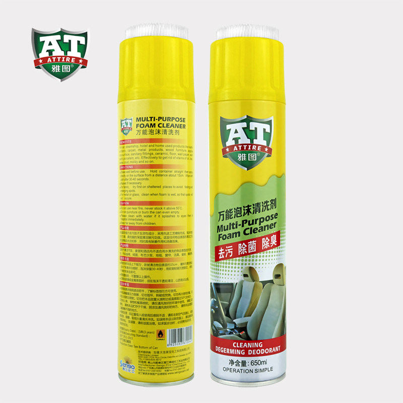 Deep Cleaning Multi Purpose Foam Cleaner