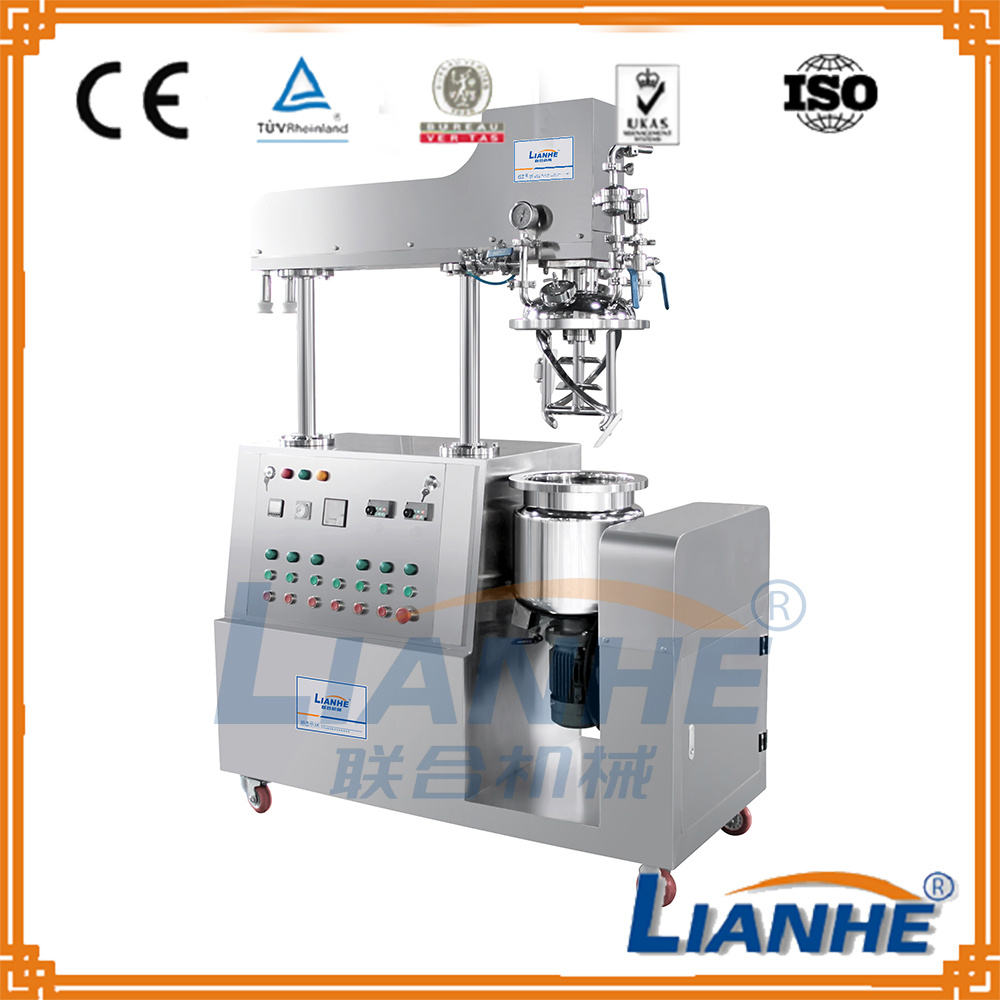 Body Cream Vacuum Mixer Cosmetic Homogenizer Mixing Machine