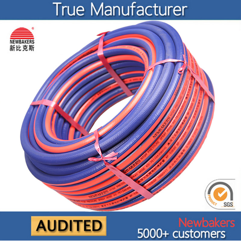 PVC High Pressure Spray Hose Agricultural Spray Hose Ks-75138A100bsyg