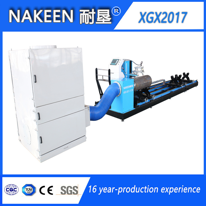 CNC Steel Pipe Plasma Cutting Machine of Five Axis