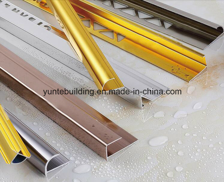 Aluminium Profile for Tile Decoration