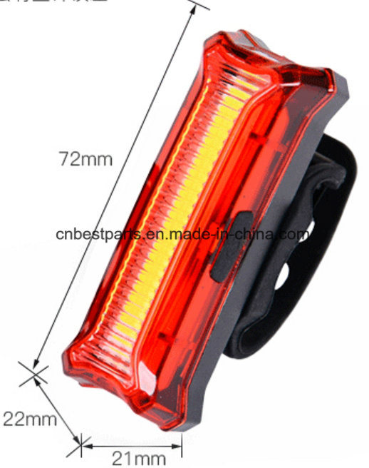 3 Color in 1 COB Bicycle Tail Light