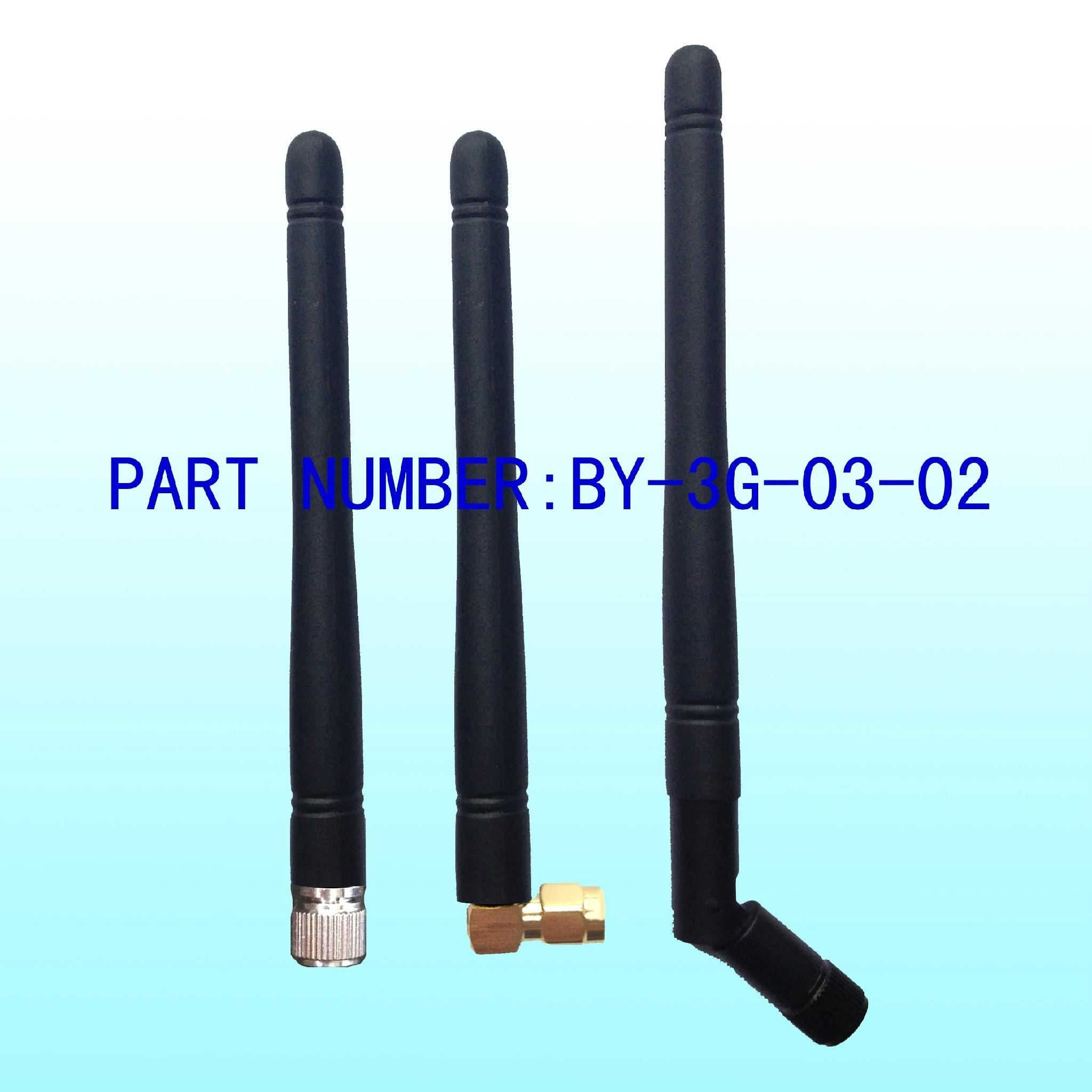 3G Rubber 3dBi Antenna for Radio Communication
