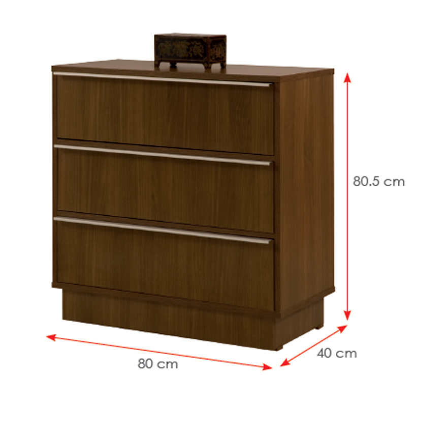 Wooden Wardrobe Night Stand Bed Room Furniture Sets (HX-DR064)