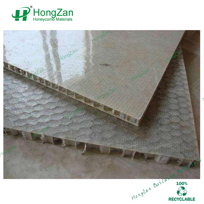 Light Weight FRP GRP Honeycomb Sandwich Panel for Rigid Truck Body