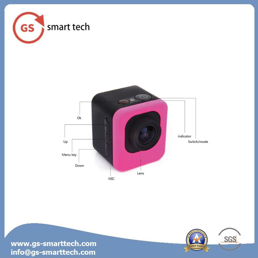 Fisheye Correction Ultra HD 4k Sport Camera WiFi Action Mini Camcorder