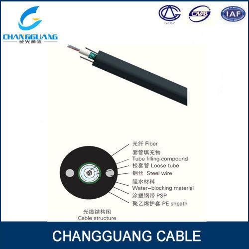 Light Armored Aerial Fiber Cable 8 Core Fiber Cable Price
