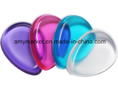 Silicone Cosmetic Powder Puff Easy Cleaning Washable Various Colour Powder Puff