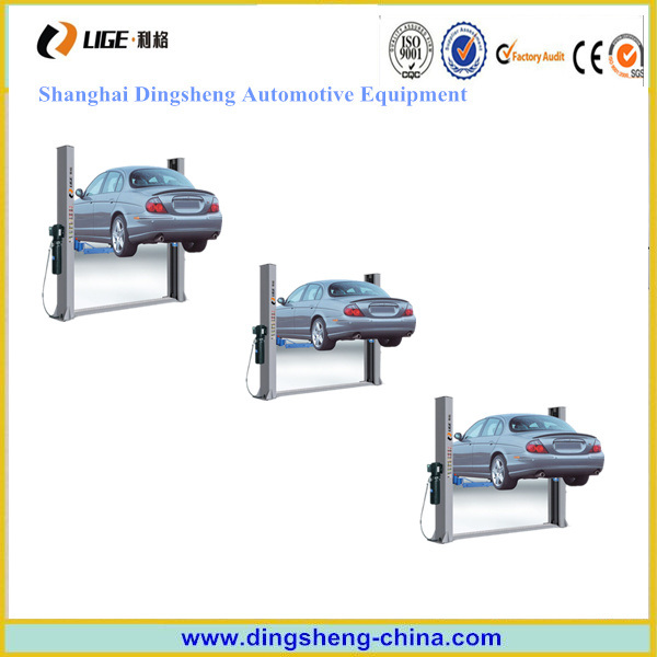 Manual Car Lift 2 Post Lifting Machine
