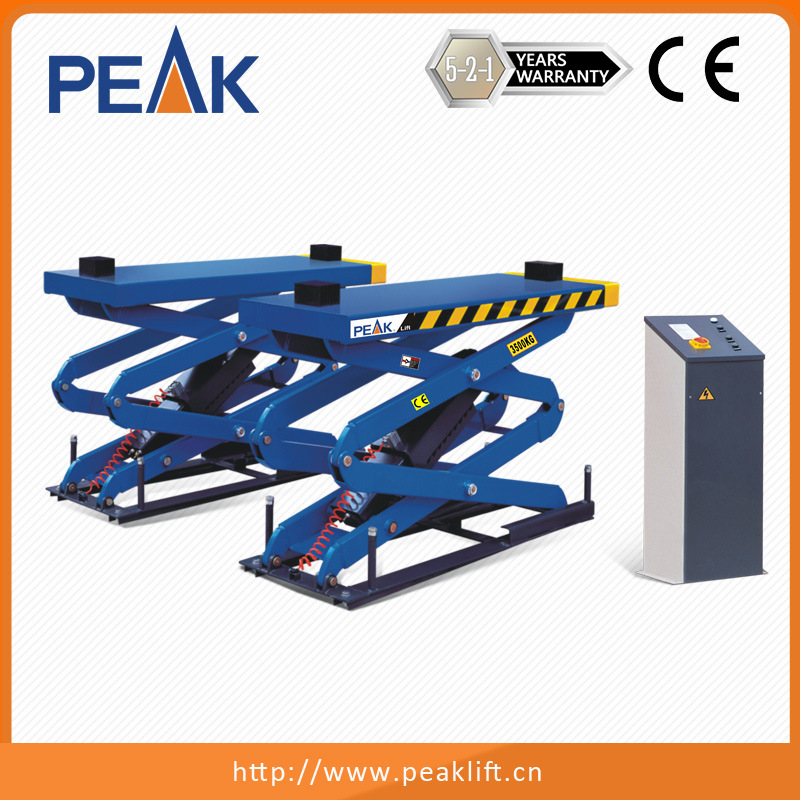 Flush-Mount Ce Approval Automotive Scissor Lift (SX08F)
