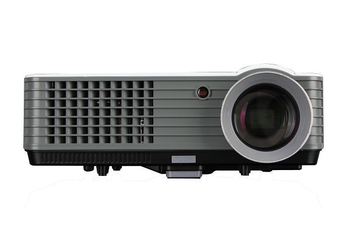 Yi-801 LED Projector 2000lumens Android 3D Beamer Home Cinema Theatre Projector TV LCD Video Game HDMI VGA