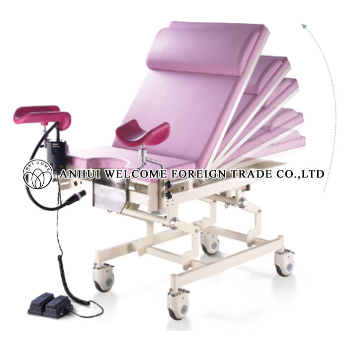 Electric Gynaecology and Obstetrics Examination Bed