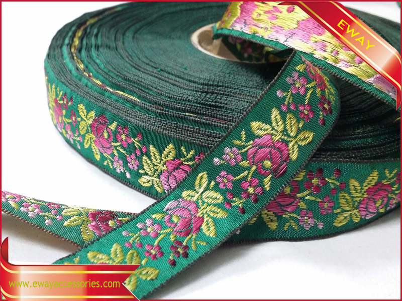 Jacquard Ribbon Sewing Trim for Clothing