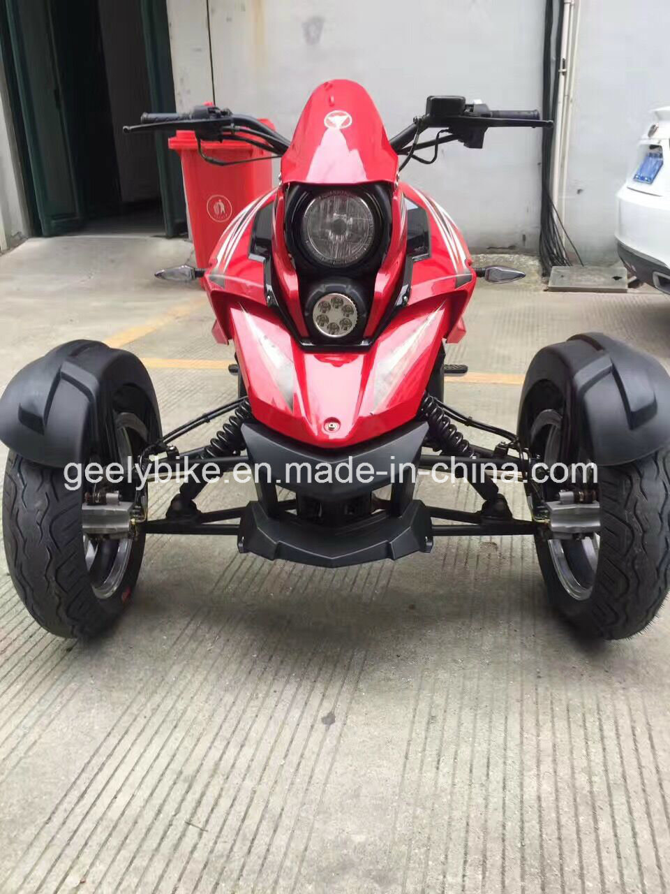 Reverse 3 Wheelers Tricycle