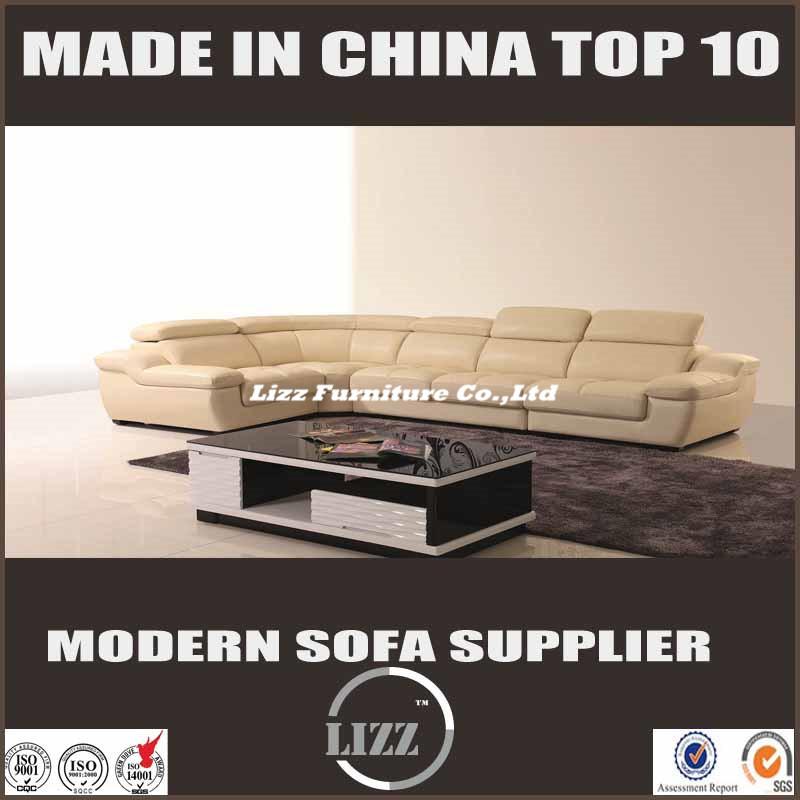 Modern Sofa L Shape Living Room Furniture (LZ-1332B)