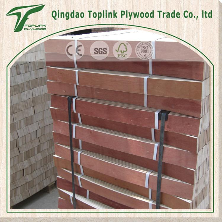 Poplar/Birch/Eucalyptus Curved/ Bent Wooden Bed Slat/ Furniture Slat