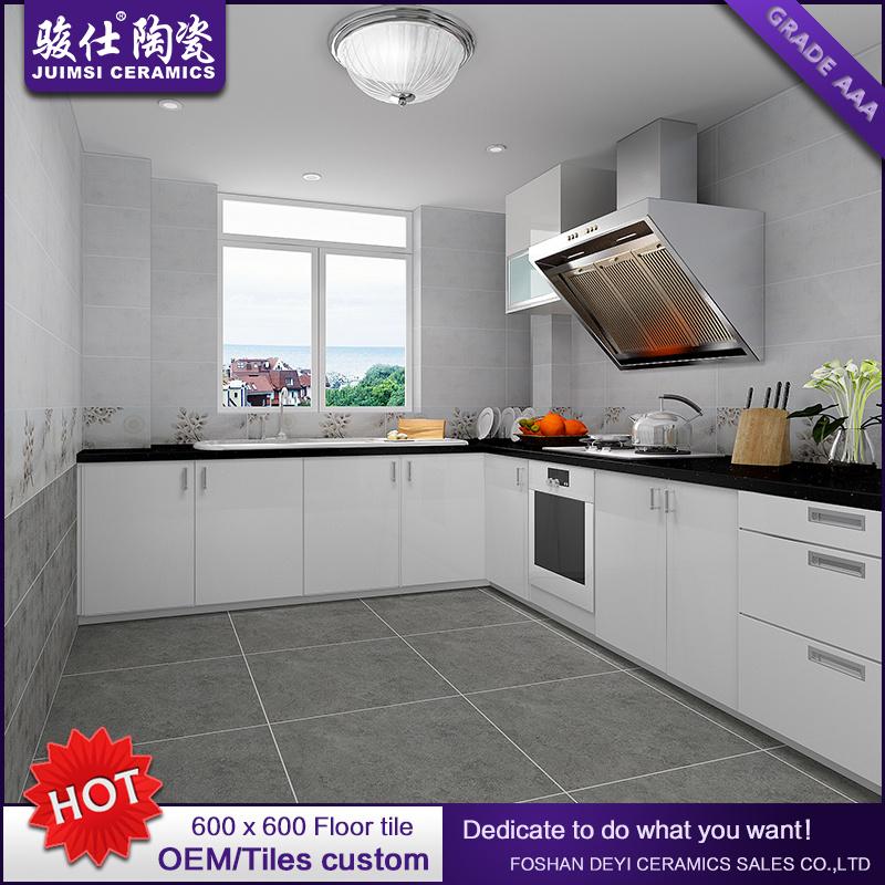 Foshan Juimsi New Design Rustic Tile Grey Ceramic Floortile 600X600mm