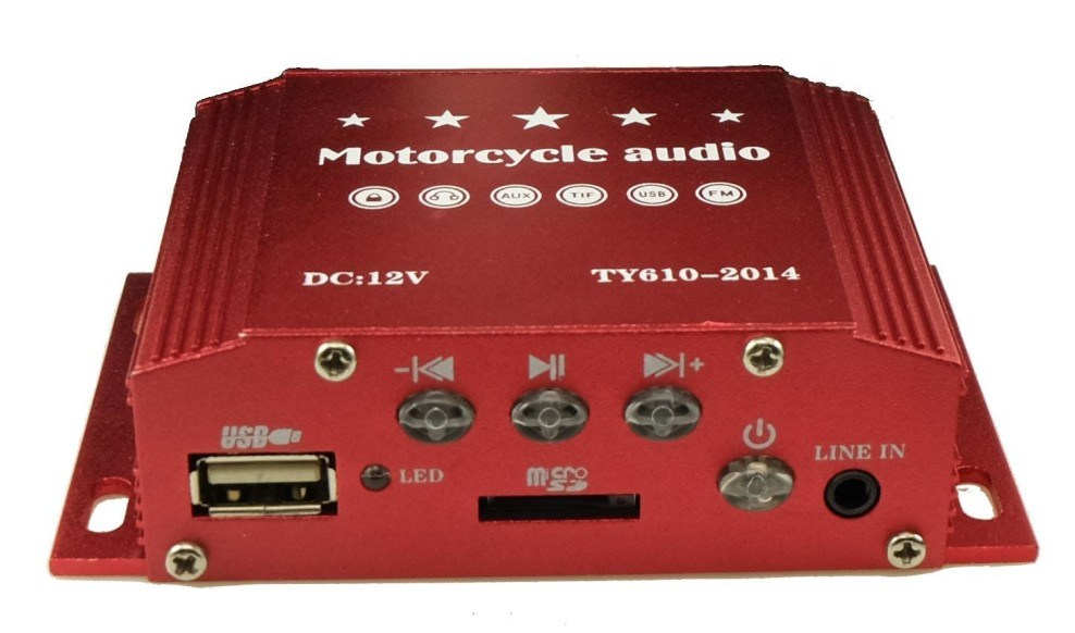 Multifunctional MP3 Radio Accessories Motorcycle Parts