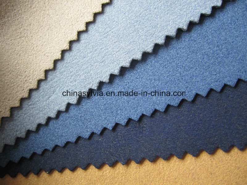Nylon Microfiber Suede Leather