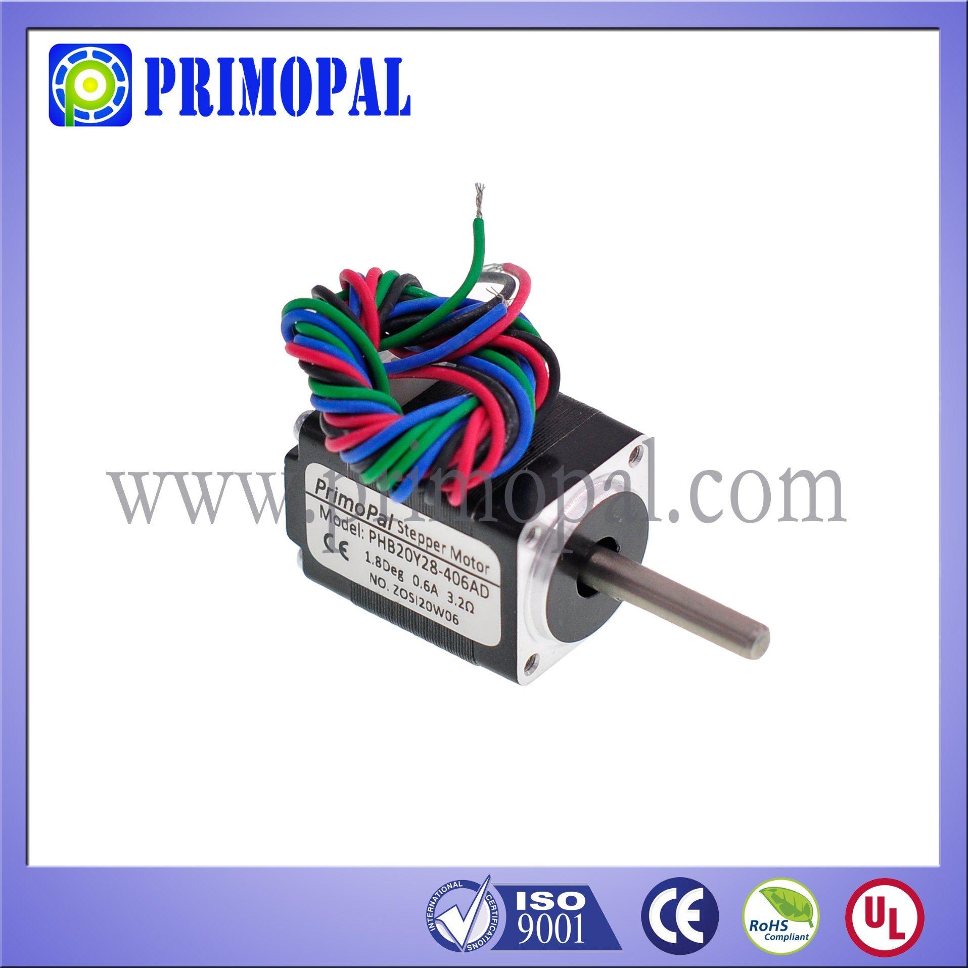 Miniature NEMA 8 Stepper Motor for CCTV System