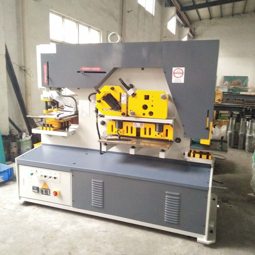 Q35y, Diw, Piw Series 120 Ton Equipment Hydraulic Ironworker for Punching, Cutting, Bending