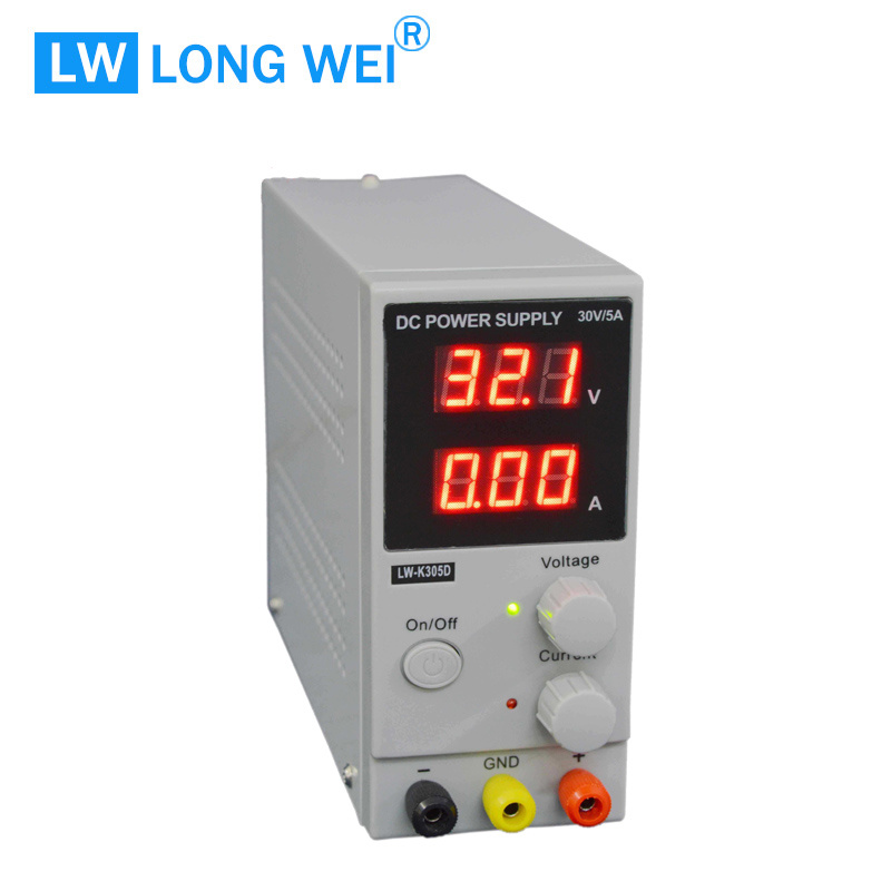 30V 5A Lwk305D Variable Adjustable Switching DC Power Supply for Mobile Phone Repair
