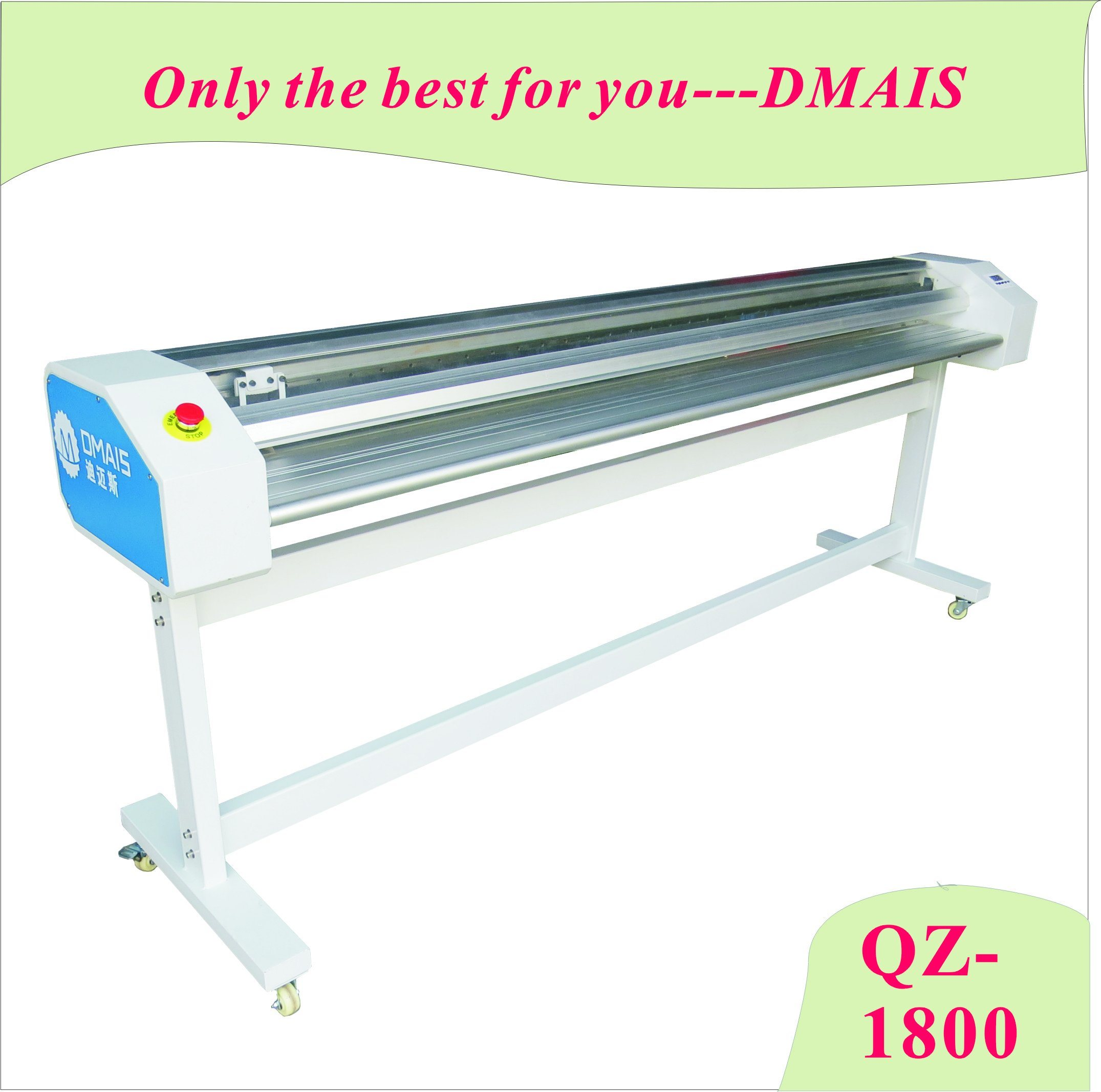 QZ-1800 Paper Cutter for Advertising Material Cutting Left and Right Side