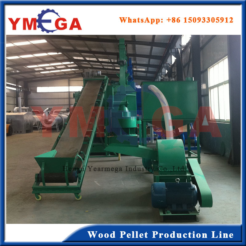 Ce Certificate Wood Sawdust Biomass Pellet Processing Line