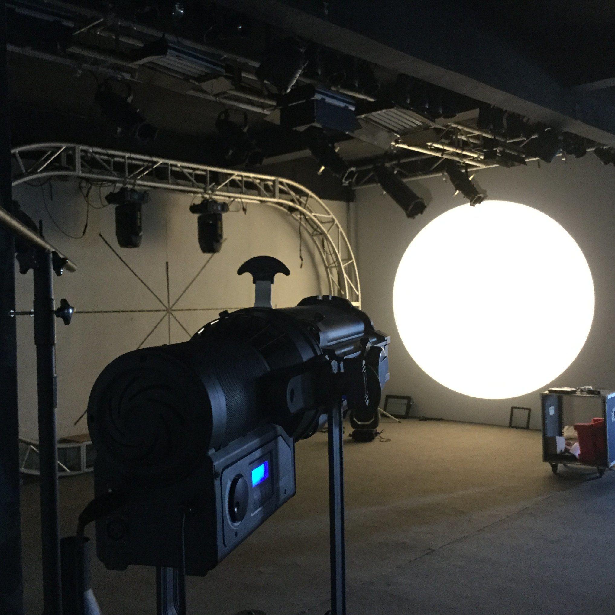 150W LED Zoom Profile Light Ellipsoidal Leko Light for Theatrical Lighting