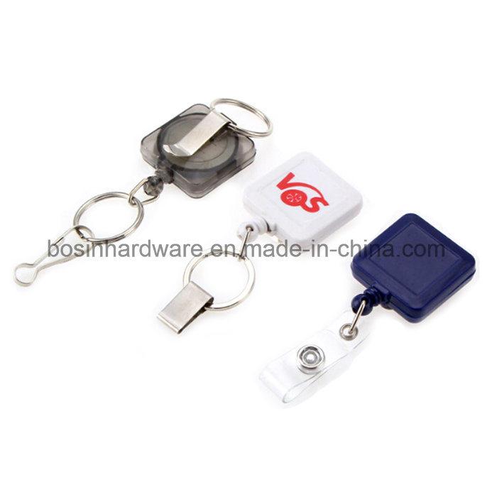 Plastic Custom Badge Reel for Lanyard