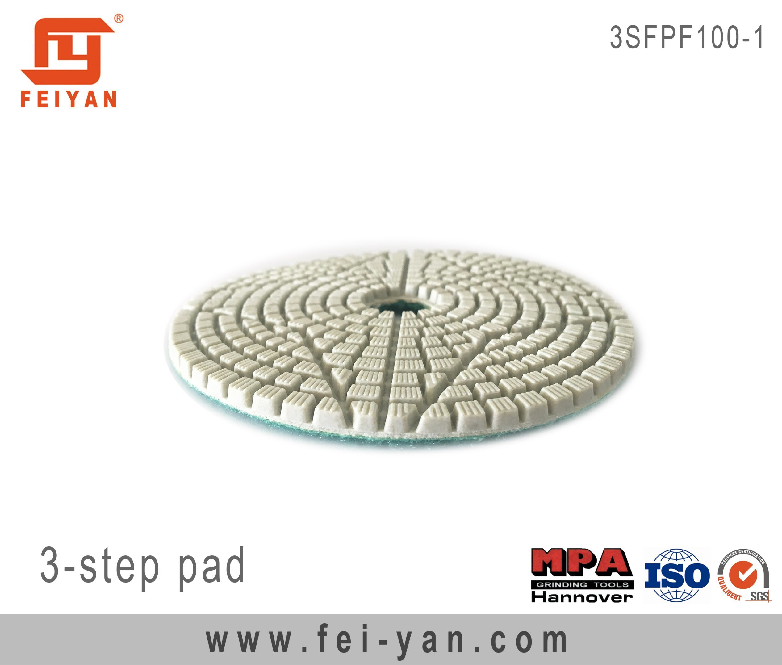 3-Step Polishing Pad