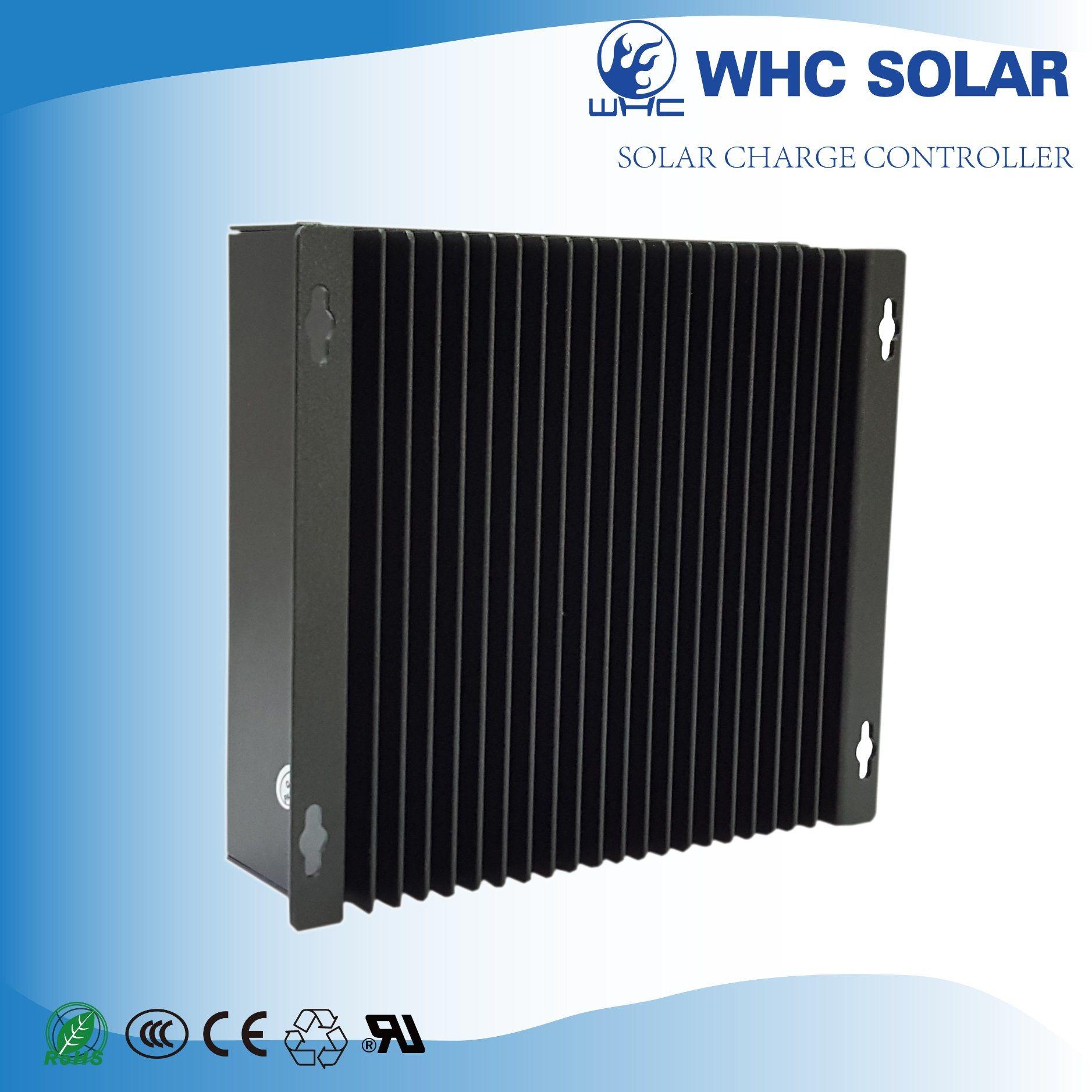 High Efficiency PWM LCD Solar Controller
