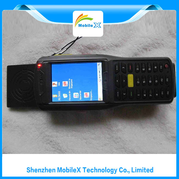 Data Collector with Barcode Scanner, RFID, Finger Print