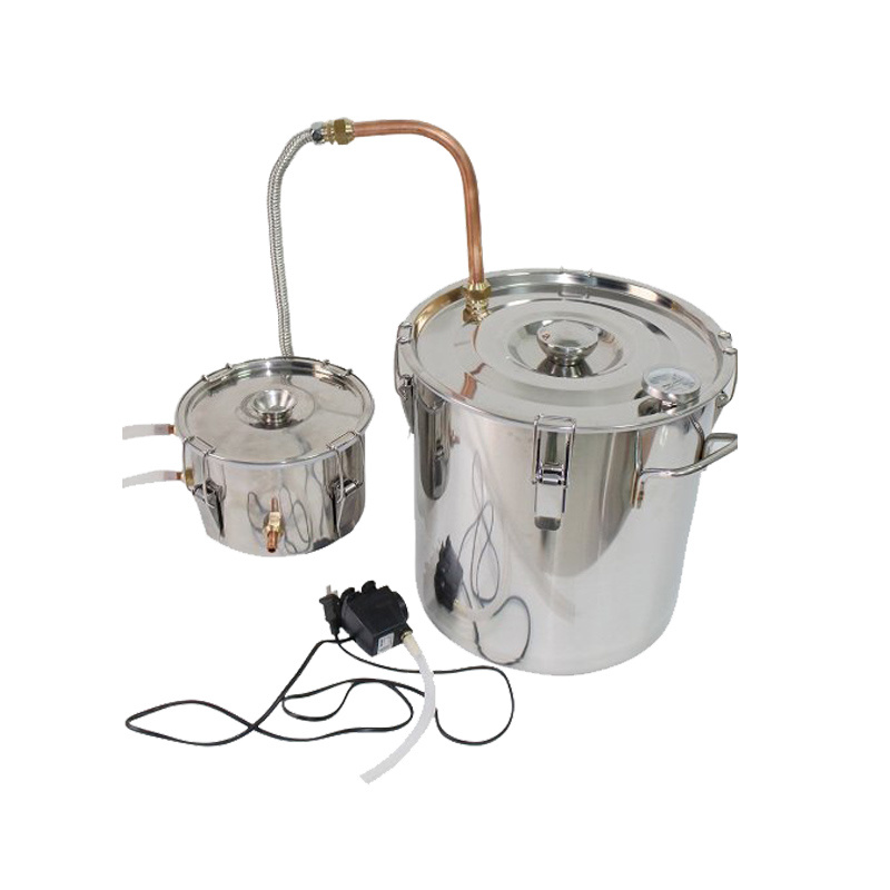 10litre/3gallon Moonshine Ethanol Spirits (alcohol) Distillation Home Brewing Equipment
