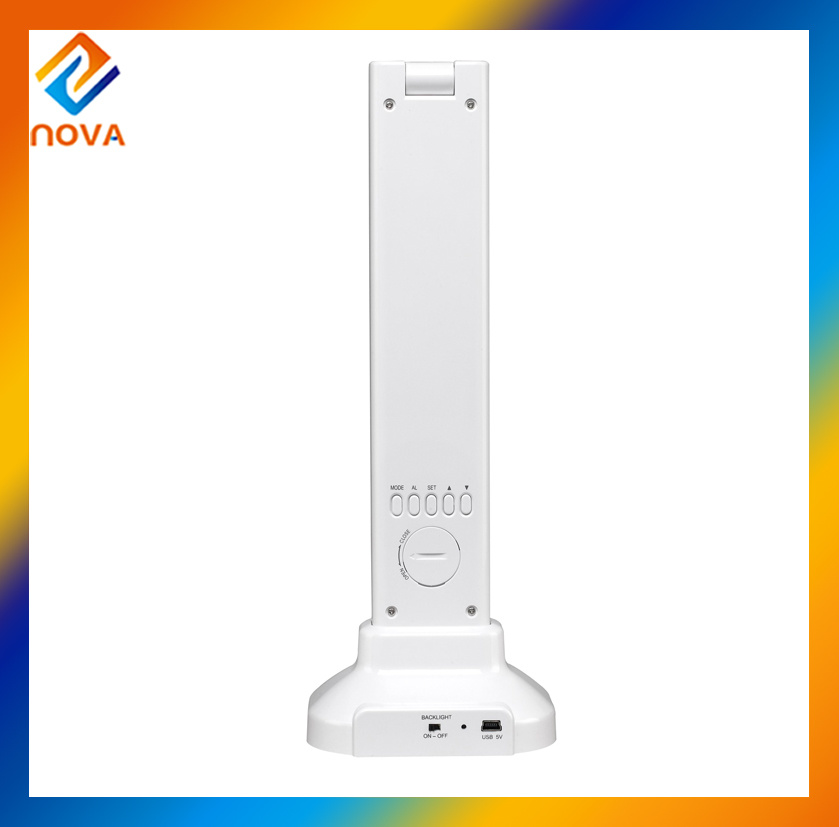 Portable Desk Lamp with USB Electrical Outlet for Office