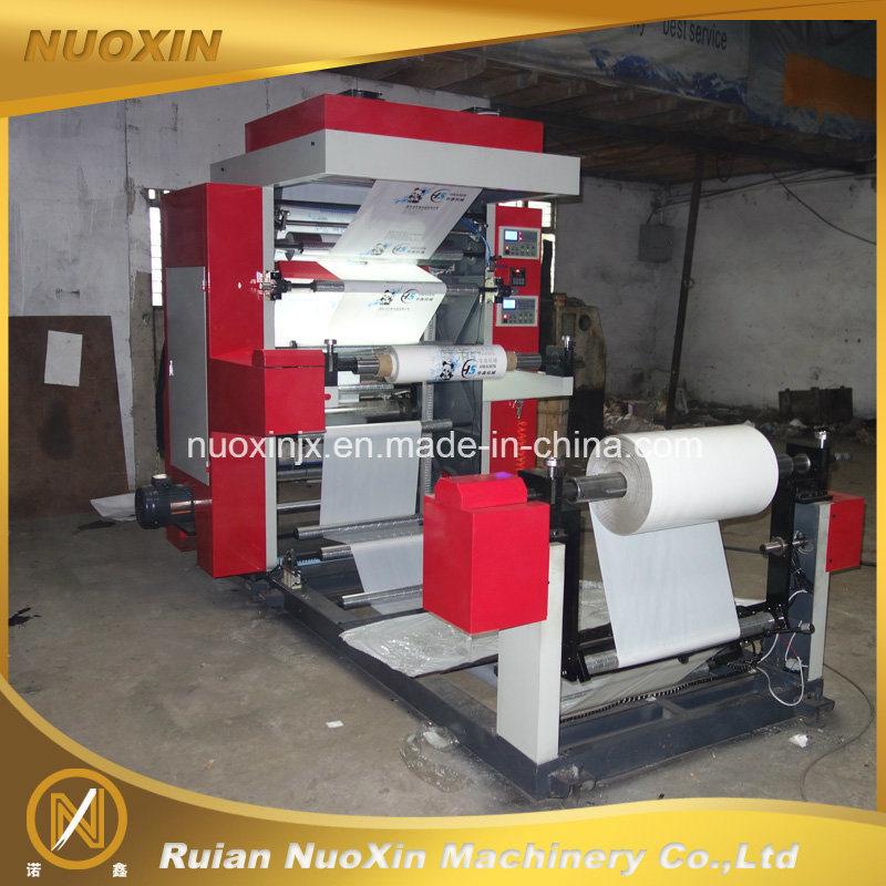 2 Colour Plastic Flexo Printing Machine