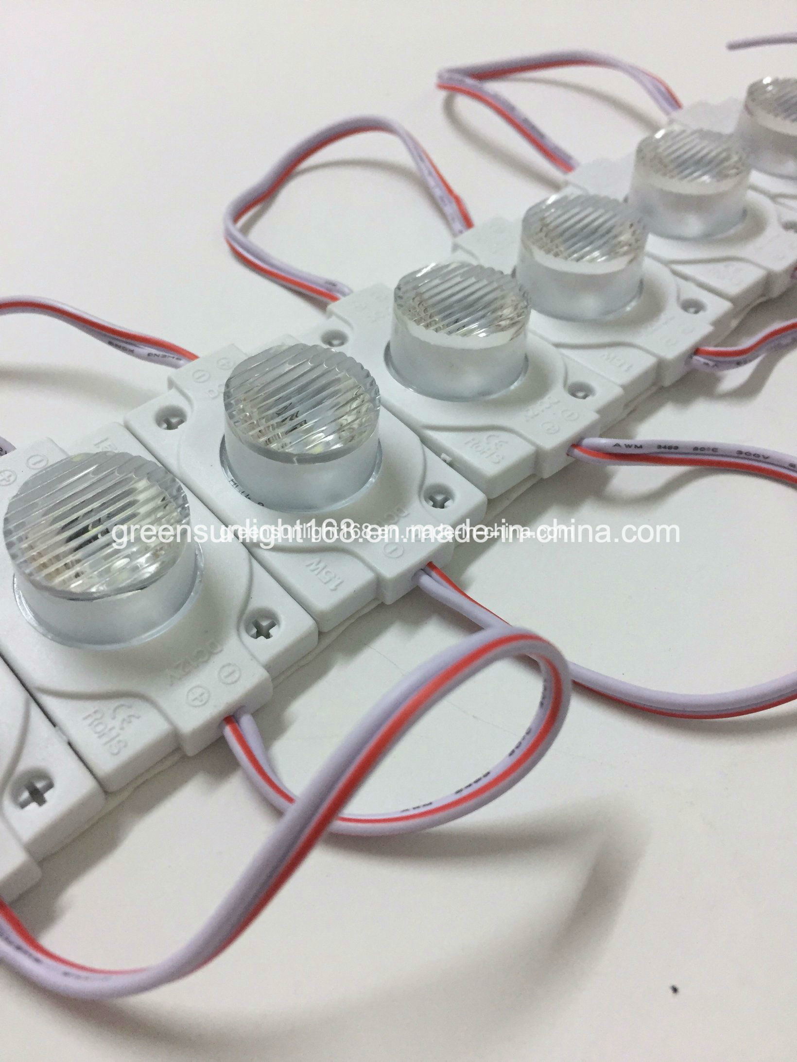 SMD 3030 Injection LED Module with Lens