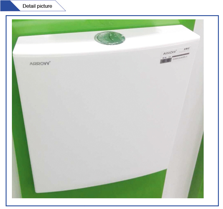 Jet-102 Custom Printed Dual Flush Plastic Toilet Water Cistern