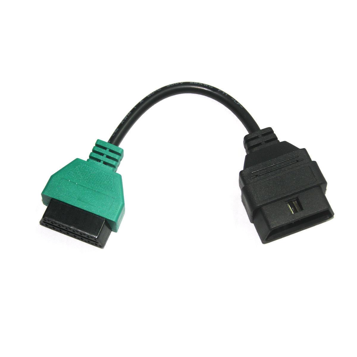 for FIAT ECU Scan Adaptors OBD Diagnostic Cable 5 Colors