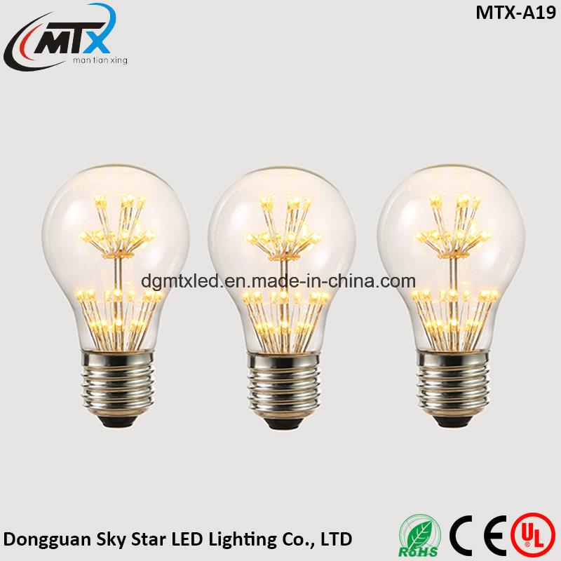 MTX LED lamp e27 LED bulb christmas string lights 110V 220V filament bulb g95 holiday lights christmas decoration for home