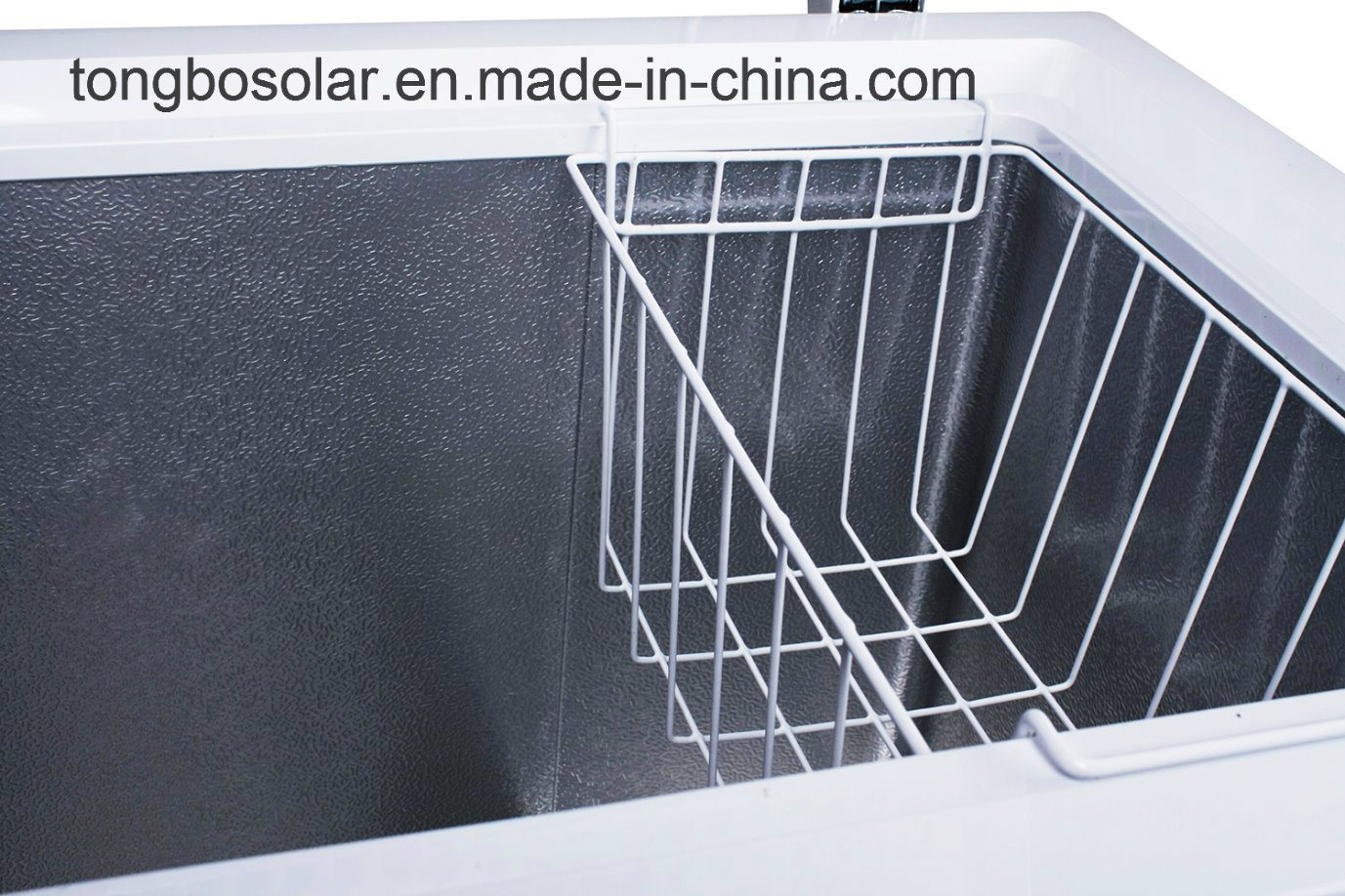 DC 12V 24V Solar Freezer Commercial Chest Freezer 282L
