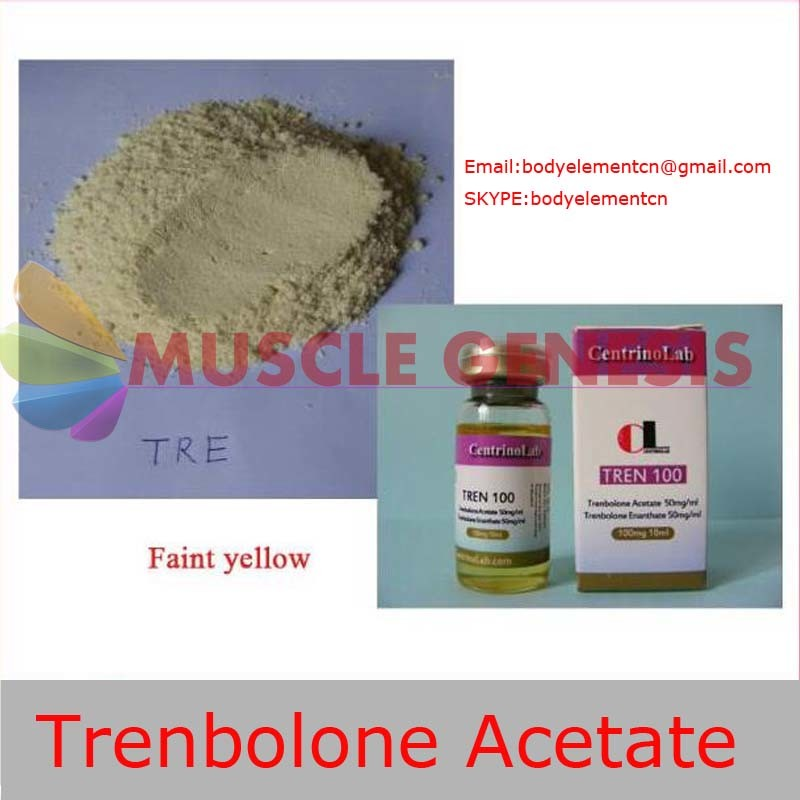 Pharmaceutical Trembolone Anabolic Steroid Powder Trenbolone Acetate for Lean Muscle