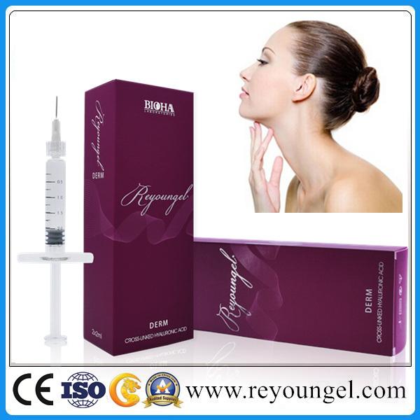 Facial Hyaluronate Acid Dermal Filler for Lip Enhancement