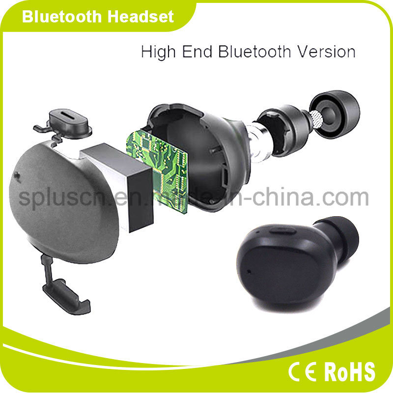 Newest Bluetooth Headphone Sports Earbuds, Stereo Ture Wireless Earphones with Super Sound
