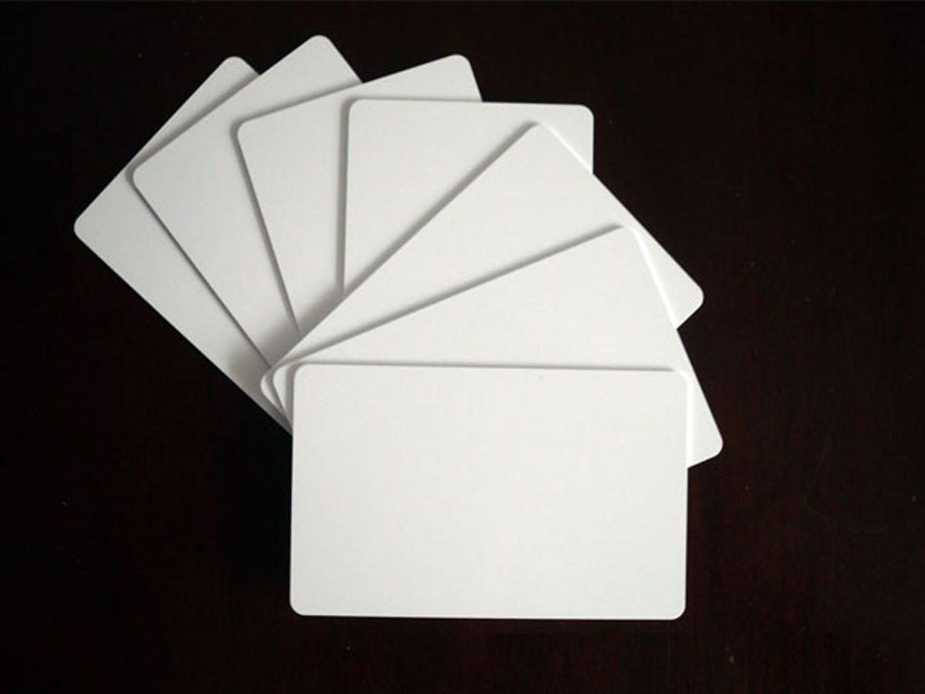 125kHz RFID Card 13.56MHz Proximity Card Blank Thin Card