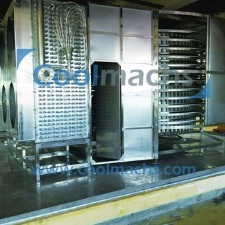 Spiral IQF Individual Quick Freezing Machine